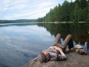 Johannes_resting_in_nature