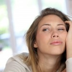 Image of woman feeling overwhelmed and listless
